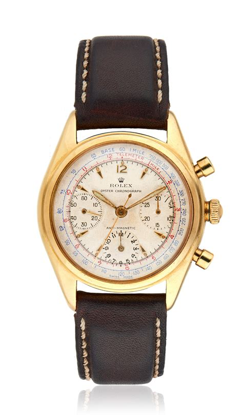 ROLEX, ANTI-MAGNETIC OYSTER CHRONOGRAPH, REF. 5034 ...