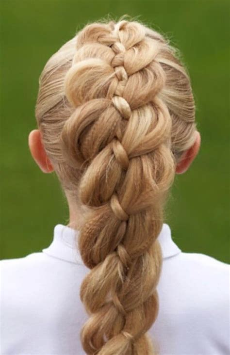 popular  pinterest   strand dutch braid hair