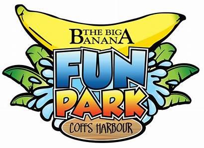 Banana Coffs Harbour Park Fun Giant Slide
