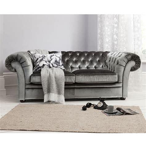 gray velvet loveseat sarina sofa in grey by gallery homewares sumptuous