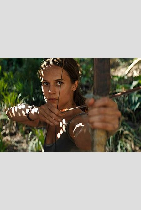 Lara Croft Rebooted: The Tomb Raider Is Back in New Movie