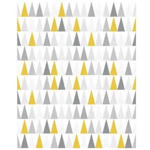 papier peint support intiss 233 thalie jaune gris