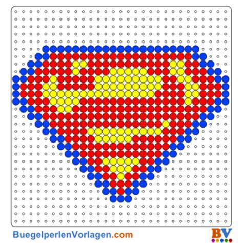 buegelperlen vorlagen von superman zum herunterladen und