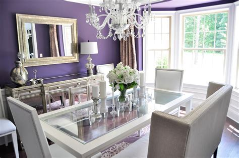 Silver room accessories dining room contemporary with