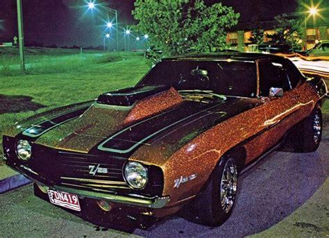 vintage 1969 camaro z 28 with sweet large metal flake