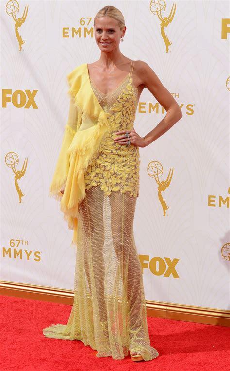 Heidi Klum Primetime Emmy Awards Los Angeles
