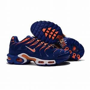 Bleu Et Orange : nike air max plus tn orange et bleu achat vente basket soldes d s le 10 janvier cdiscount ~ Nature-et-papiers.com Idées de Décoration