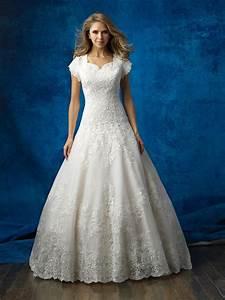 allure bridals modest m563 allure modest elegant With wedding dresses sioux falls