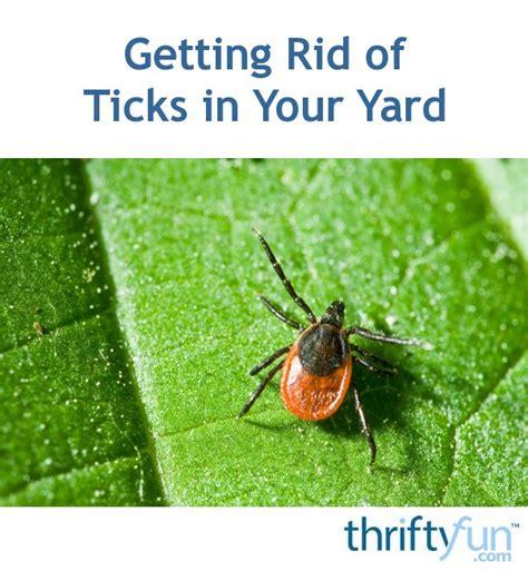 rid  ticks   yard thriftyfun