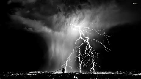 Wallpaper Hd Black And White by Black And White Lightning Wallpaper Gallery