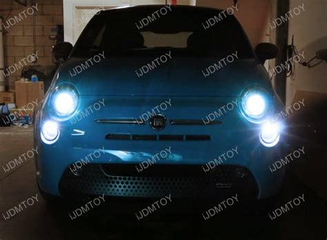 xenon white high power 15 smd led bulbs for fiat 500