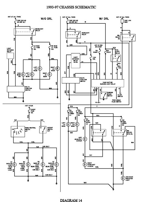 toyota corolla wiring diagram wiring diagrams