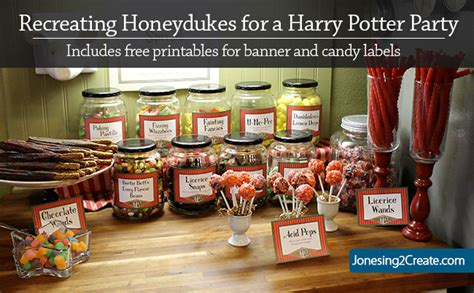 harry potter printables  decorations jonesingcreate