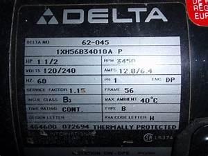 120v Conversion For Delta Contractor U0026 39 S Saw Ii  36