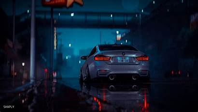 Night Rain Wet Wallpapers Gray Cars 1080p