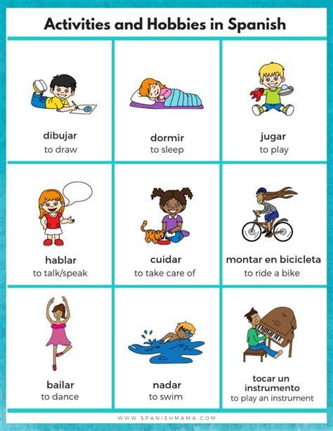 spanish  kids starter kit  images spanish