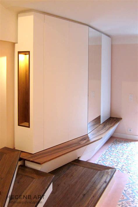 cuisine contemporaine en bois massif hegenbart meuble d 39 entrée original et sur mesure