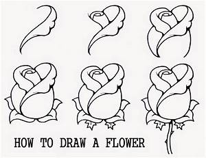 How to draw a flower easy step by step - Learn To Draw And ...