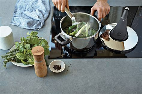 wmf perfect pro pressure cooker  quart cutlery