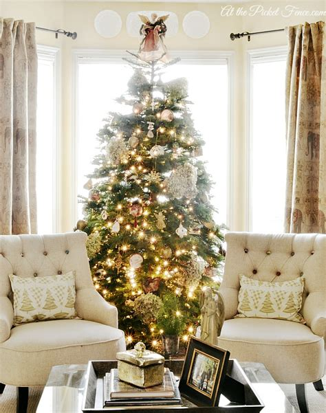 Christmas Home Tour  Vanessa's House  At The Picket Fence