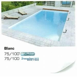 Piscine Liner Blanc : liner piscine uni 75 100 ultim alkorplan blanc ~ Preciouscoupons.com Idées de Décoration