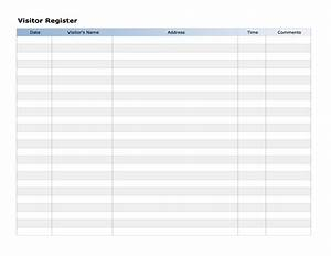 sign in sheet template word tristarhomecareinc With visitor sign in register template