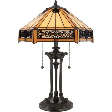 quoizel tf6669vb 2 light table l in vintage