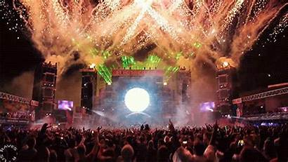 Rave Concert Laser Gifs Festival Edm Indoclubbing