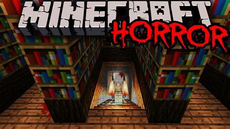 minecraft  amazing horror map scary haunted house adventure  puzzle mystery