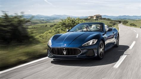maserati granturismo 2018 maserati gt convertible the purest form of