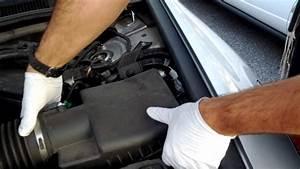 Change Air Cleaner Filter  U0026 39 10 Honda Accord V6