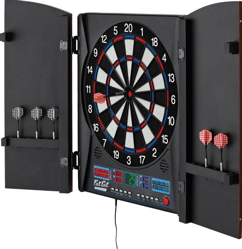 electronic dart boards with cabinet cat electronx electronic dartboard with cabinet