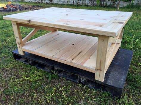 Extra Large Pallet Coffee Table  Pallet Ideas Recycled