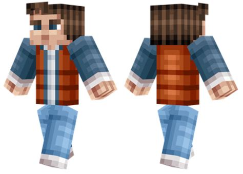 marty mcfly minecraft skins