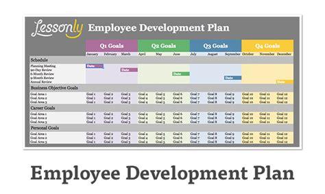 employee development plan template employee plan template cyberuse
