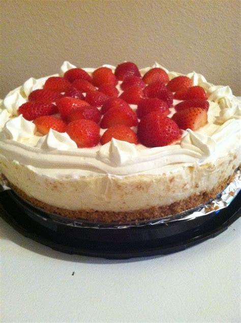 home made cheese cake homemade strawberry cheesecake desserts pinterest