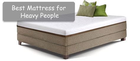 best mattress for heavy best mattress for heavy 2018 mattresses for large