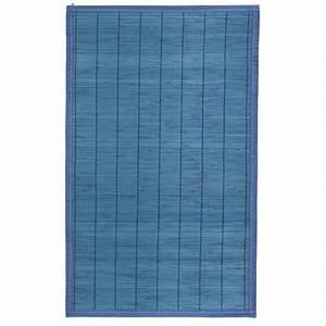 Tapis Bambou Ikea : cool tapis de bain bambou bleu with tapis de bain bambou ~ Teatrodelosmanantiales.com Idées de Décoration