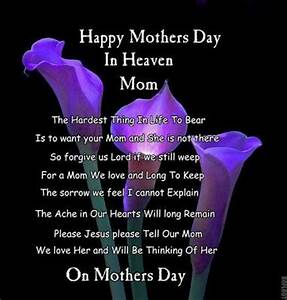 Happy Mothers Day in Heaven | In Memory of Mother~Father ...