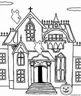 Haunted Coloring Castle Pages Printable Drawing Printables Simple Line Spooky Halloween Cool2bkids Clip Print Getdrawings Pdf Sketch Getcolorings Getcoloringpages Template sketch template