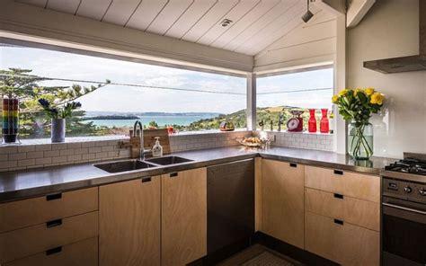 reve cuisine agencement cuisine de rêve avec vue sur la mer et l 39 océan