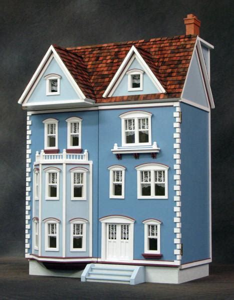 scale front opening east side townhouse dollhouse kit