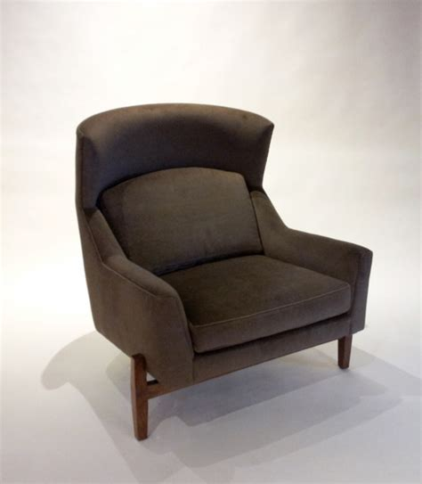 decor nyc consignment archive jens risom quot big chair quot from