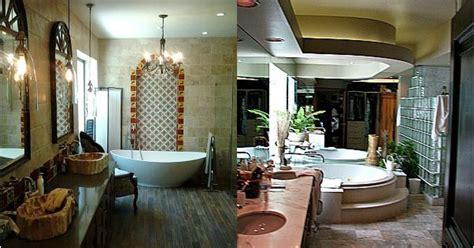 art deco master bath transforms   spanish hacienda