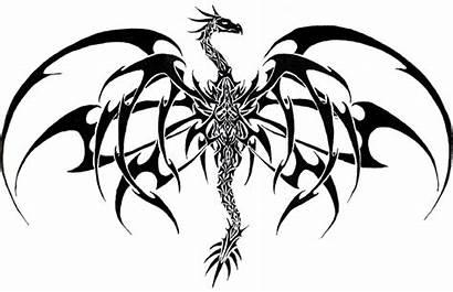 Dragon Tattoos Tribal Designs Tattoo Drawings Cool