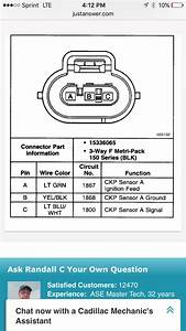 Crankshaft Position Sensor Connectors - Gm Forum