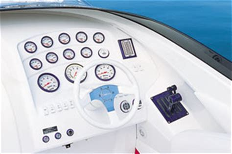 Gaffrig Boat Steering Wheel by Nordic 35 Performance Test Boats