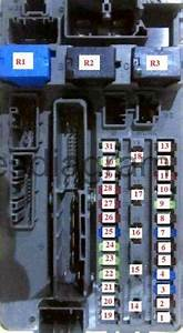 Fuse Box Honda Accord 2008