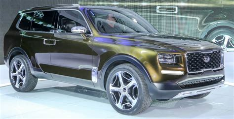 2020 Kia Telluride Dimensions by 2020 Kia Telluride Specs Review Interior Price Concept
