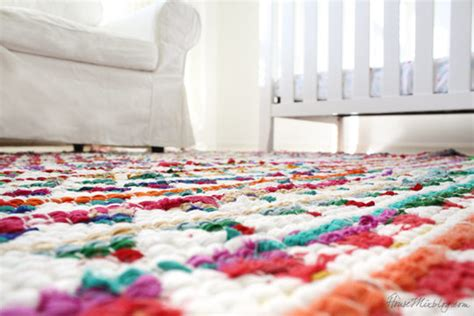 How To Make A Large Rug by Sew Small Rugs Into One Big Rug House Mix